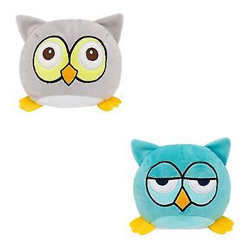 Owl Flip Mood Doll Double-sided Doll
