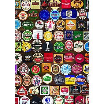 Piatnik Beer Coasters Jigsaw Puzzle (1000 Pieces)