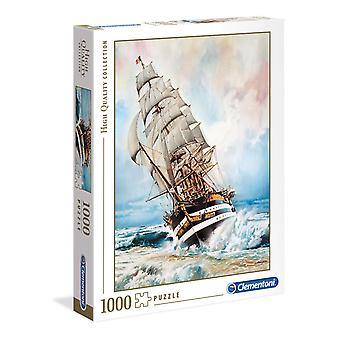 Clementoni Amerigo Vespucci Puzzle de haute qualité (1000 pièces)