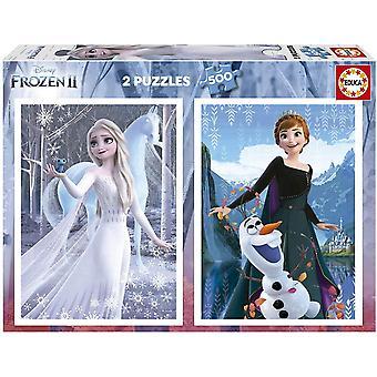 Educa Disney Frozen Jigsaw Puzzles (2 x 500 Pieces)