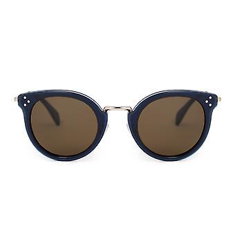 Celine Round Sunglasses CL40011U 90J 48