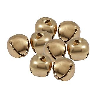 50 Gull 30mm Jingle Bjeller for håndverk