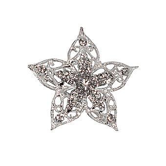Stor blomst formet Diamante Brosje for Blomsterdekoratør eller bryllup håndverk