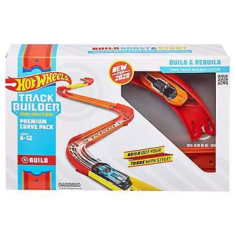 Hot Wheels Track Builder Onbeperkt Premium Curve Pack