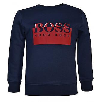 Hugo Boss Boys Hugo Boss Infant Boy's Navy Sweatshirt