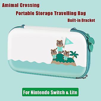 AnimalCrossing lindo viaje bolsa de almacenamiento protector para Nintendo Switch Console caja