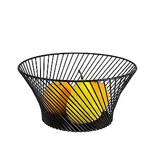 Nordic modern minimalist wrought iron fruit basket home fruit tray home creative fruit bowl living