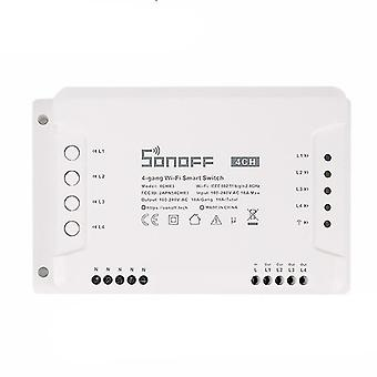 Home automation kits 4 gang wifi smart switch with rf control