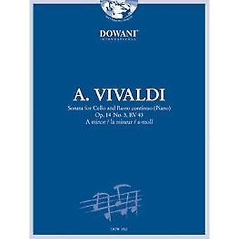 Vivaldi: Sonata para violoncelo e bc op.14 no.3,rv43 em um menor