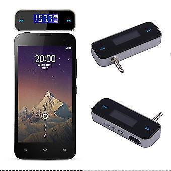 Мини автомобильный FM-передатчик Комплект музыки 3.5fm с USB-кабелем для мобильных телефонов Sf1