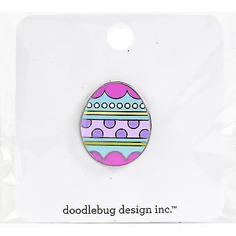 Doodlebug Collectible Enamel Pin - Easter Egg