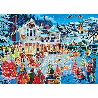 Ravensburger The Christmas House Edizione Limitata 2021 Jigsaw Puzzle (1000 Pezzi)