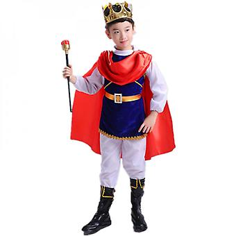 Halloween Children's Costume Prince Boy Clothes Cosplay King Boy Cos Dress Up Cosplay Suit