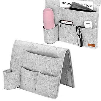 Canapé Sac de rangement Kit de rangement de chevet Paquet pliable pour téléphone Télécommande