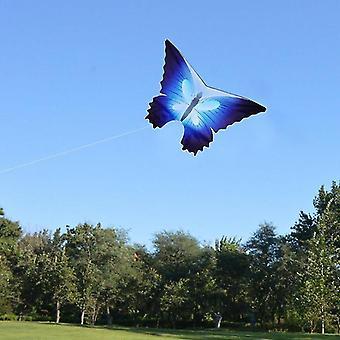 Aquilone volante colorato in nylon a farfalla all'aperto