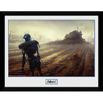 Fallout 4 Farming Robot Collector Print