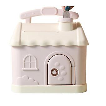 Kleines Haus Sparschwein Kinder süße kreative Cartoon Große Kapazität