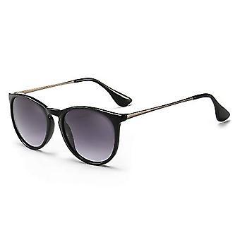 Gafas de sol redondas vintage para mujeres Hombres Estilo clásico de diseño retro