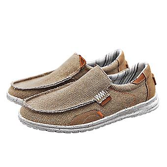 Men's Slip-on Loafers Comfortable Casual Shoes Flat Shoes