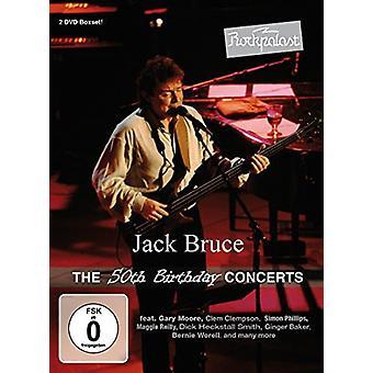 Jack Bruce - Rockpalast: importazione 50esimo compleanno concerti [DVD] Stati Uniti d'America