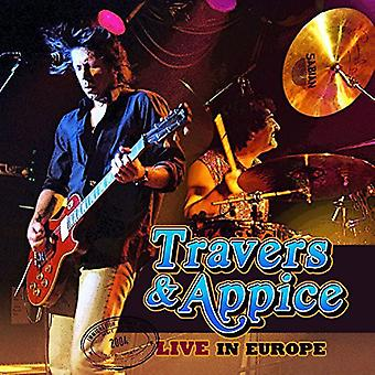 Travers & Appice - Live in Europe [CD] USA import