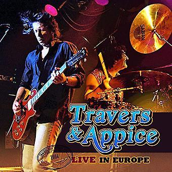 Travers & Appice - Live en importation USA Europe [CD]