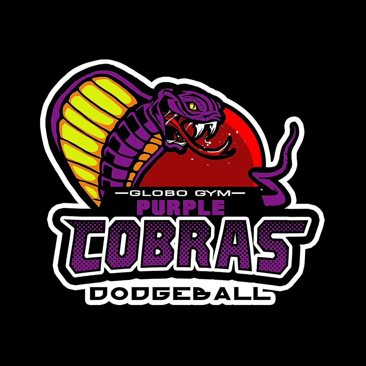Purple Champs Globo Gym Purple Cobras Dodgeball Women's Sweatshirt