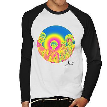 Pink Floyd Ruskin Park strzelać podczerwieni 1967 czarna męska Baseball z długim rękawem T-Shirt