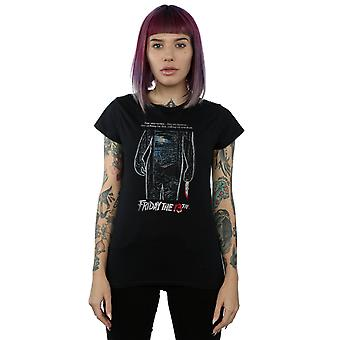 Friday 13th Women's Distressed Poster T-Shirt