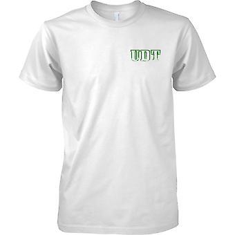 UDT inspiriert - Unterwasser-Zerstörungstrupp - KNOSPEN-Special-Forces - Kinder-Brust-Design-T-Shirt