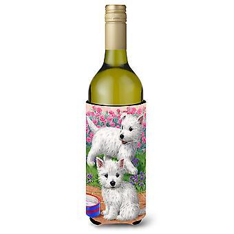 Westie pennut Viini pullo juoma eriste Hugger