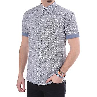 Minimum Neville Ss Printed Shirt