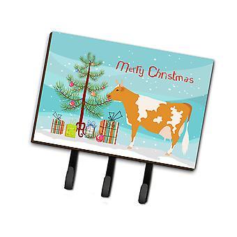 كارولين BB9188TH68 الكنوز غيرنسي البقر عيد الميلاد المقود أو حائز المفتاح