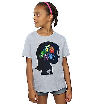 Disney Girls Inside Out Silhouette T-Shirt
