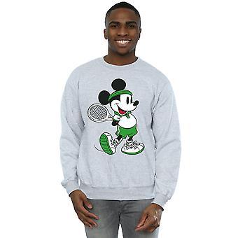 Disney Herren Mickey Mouse Tennis Sweatshirt
