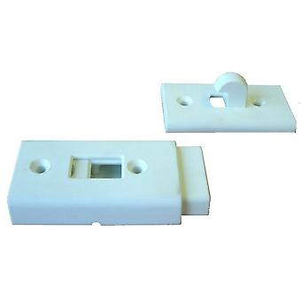 W4 Plastic External Door Catch