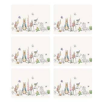 Stow Green Classic Peter Rabbit Set of 6 Placemats
