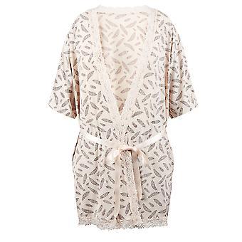 Guy de Frankrijk 67083-181-018 Women's room Motif badjas Lounge Bad badjas Kimono