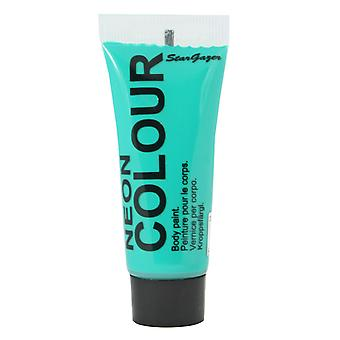 Face Or Body Paint Uv Turquoise