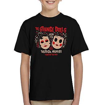 見知らぬ人奇妙な人形子供の t シャツ