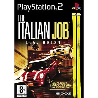De Italiaanse Job LA Heist (PS2)-in de fabriek verzegeld