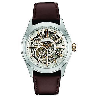 Kenneth Cole New York mannen horloge automatische leder 10030814