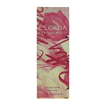 Escada Sexy Graffiti Eau De Toilette Spray 1.7Oz/50ml ORIGINAL FORMULA
