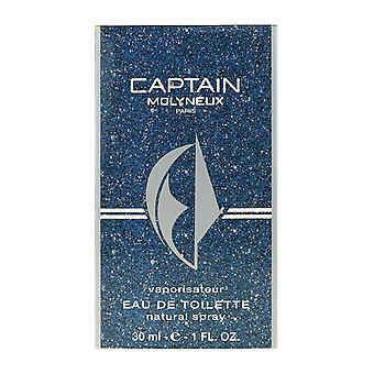 モリニュー キャプテン オードトワレ スプレー ボックスで 1.0 オンス/30 ml