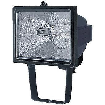 Brennenstuhl H500 Outdoor floodlight HV halogen 400 W R7s Black