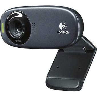 Logitech C310 HD webcam 1280 x 720 p Stand, Clip mount