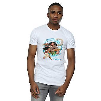 Disney miesten Moana ja Maui aalto t-paita