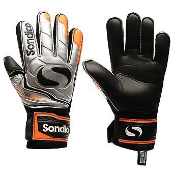 Sondico Mens EliteProtect keeper handschoenen voetbal Training SPORTACCESSOIRES
