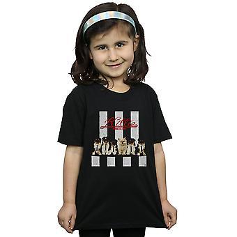 Blondie девочек Китти Purrallel линии футболку