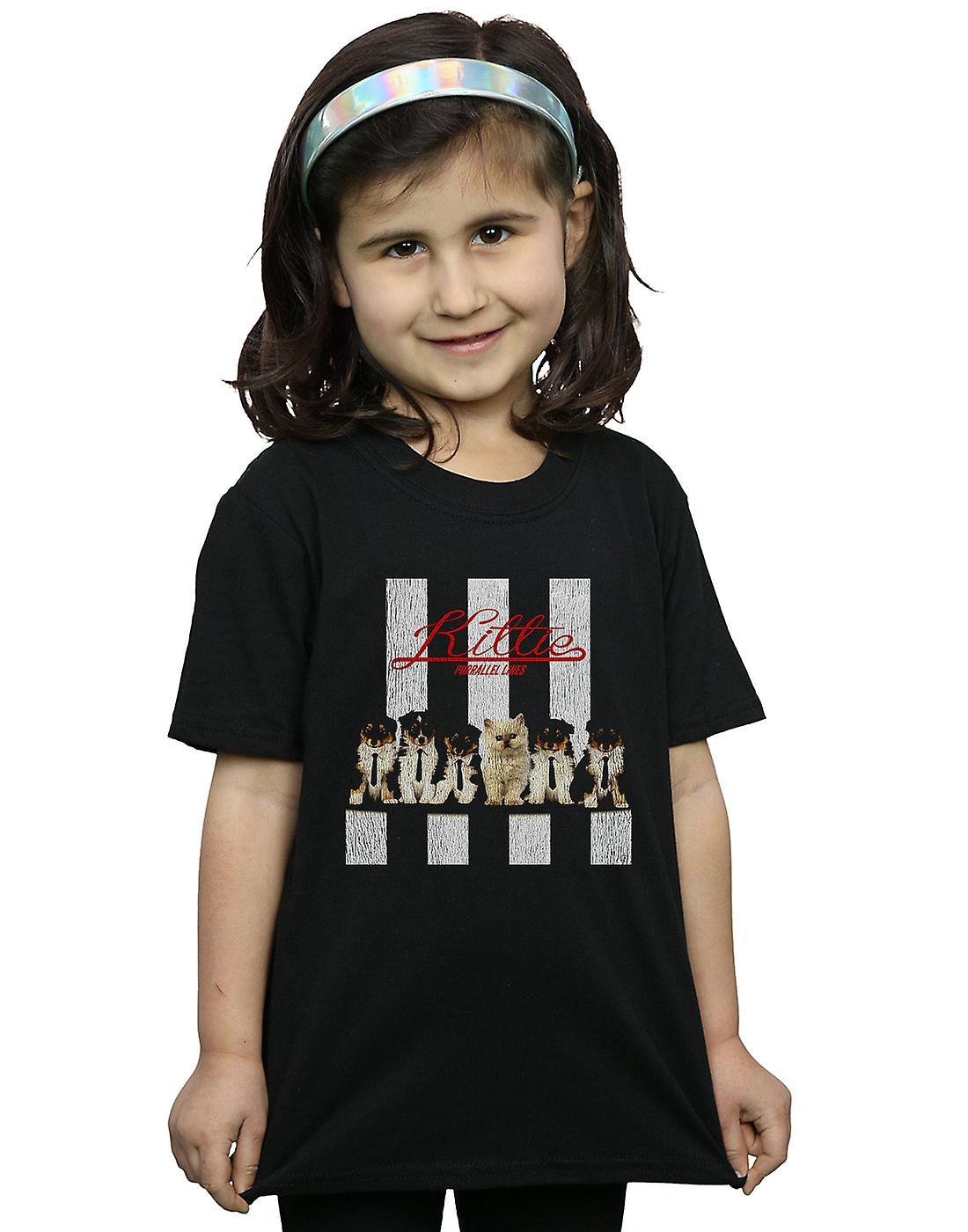Blondie Girls Kitty Purrallel Lines T-Shirt
